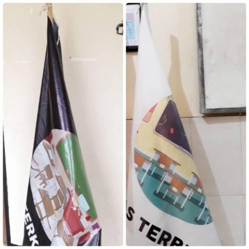 Ada Apa dengan Bendera Hitam dan Putih di SMAN 15 Surabaya?